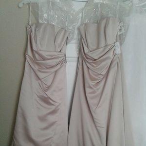 2 Bridesmaids Dresses